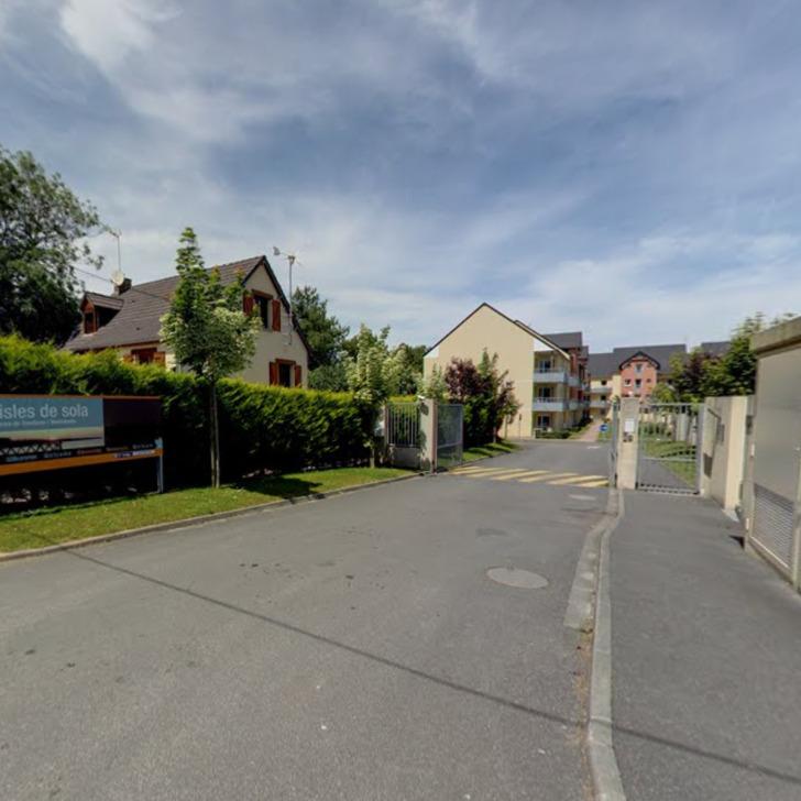 ADONIS GRANDCAMP - LES ISLES DE SOLA Hotel Parking (Exterieur) Parkeergarage Grandcamp-Maisy