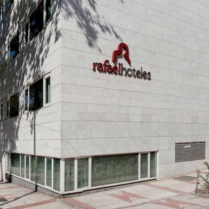 Parque de estacionamento Parking Hôtel RAFAELHOTELES VENTAS (Couvert) Madrid