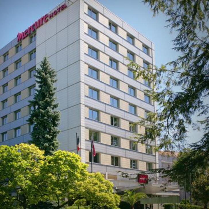 Hotel Parkhaus MERCURE BESANÇON PARC MICAUD (Extern) Parkhaus Besançon