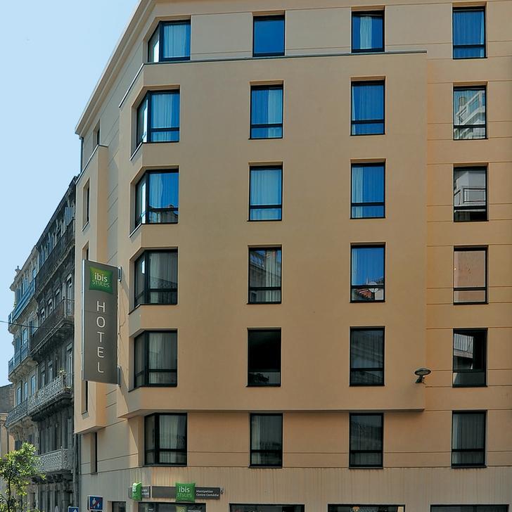 Parcheggio Hotel IBIS STYLES MONTPELLIER CENTRE COMÉDIE (Coperto) parcheggio Montpellier