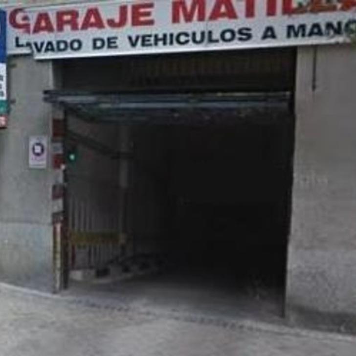 Öffentliches Parkhaus GARAJE MATILLA (Überdacht) Parkhaus Madrid