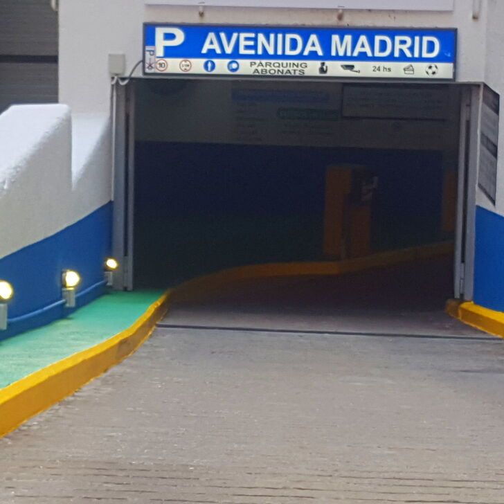 AVENIDA MADRID Openbare Parking (Overdekt) Parkeergarage Barcelona