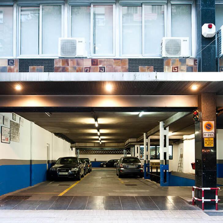 Öffentliches Parkhaus PROMOPARC ALI BEI (Überdacht) Barcelona