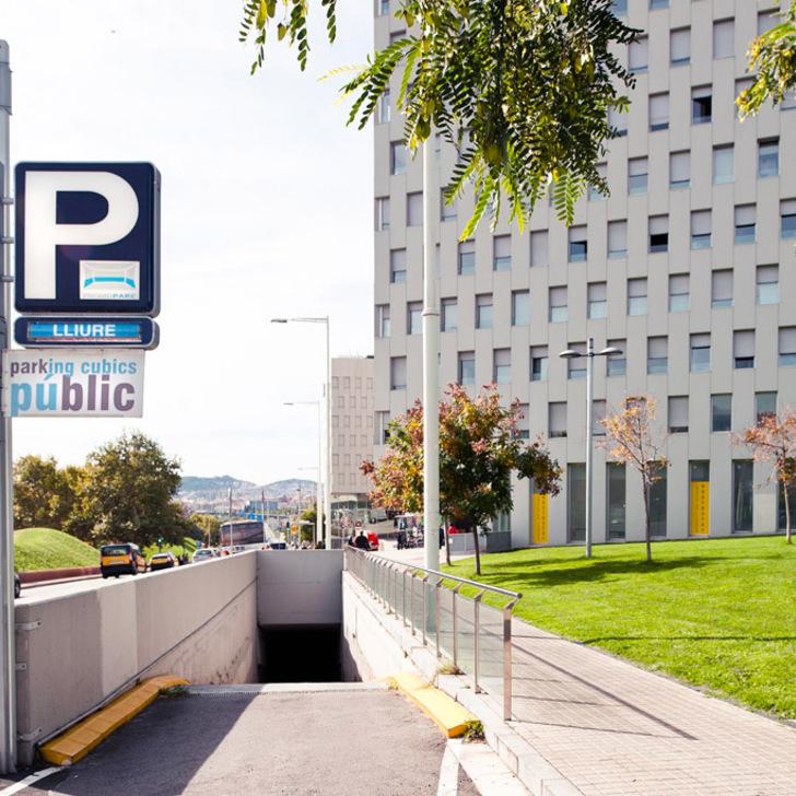 Öffentliches Parkhaus PROMOPARC CUBICS (Überdacht) Santa Coloma de Gramenet