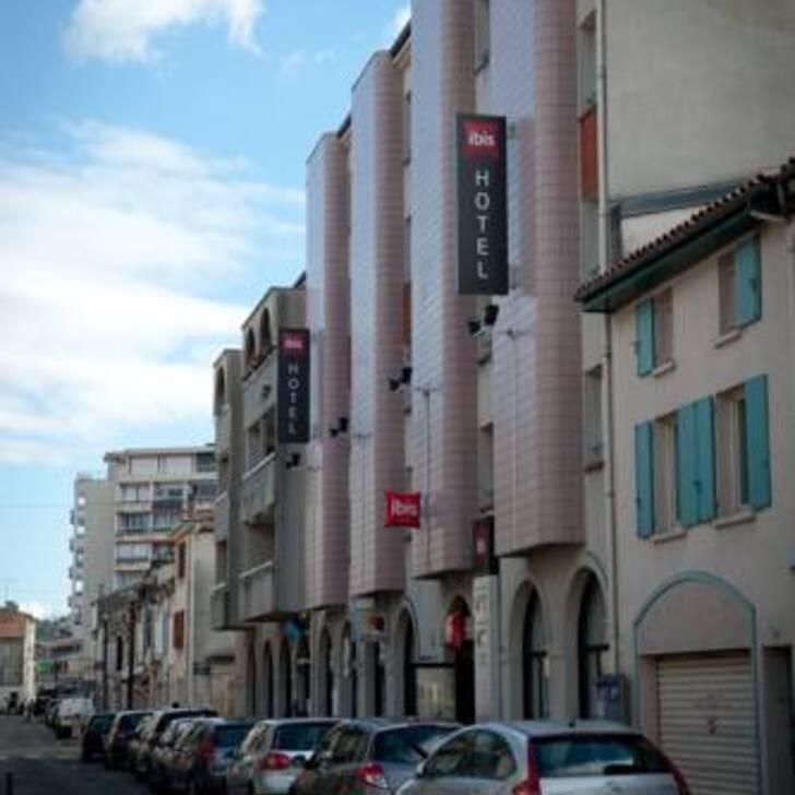 Parking Hôtel IBIS AGEN CENTRE (Extérieur) Agen