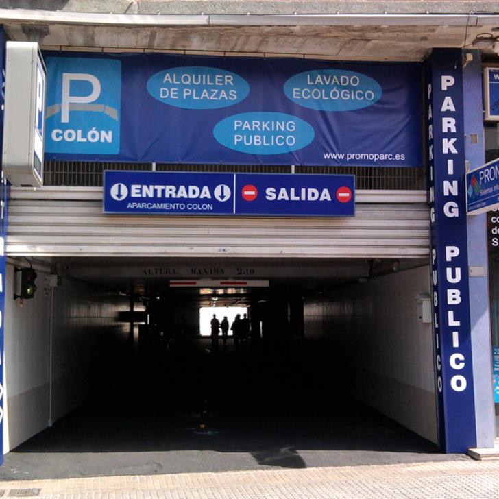 Parking Público PROMOPARC COLÓN (Cubierto) Gandía