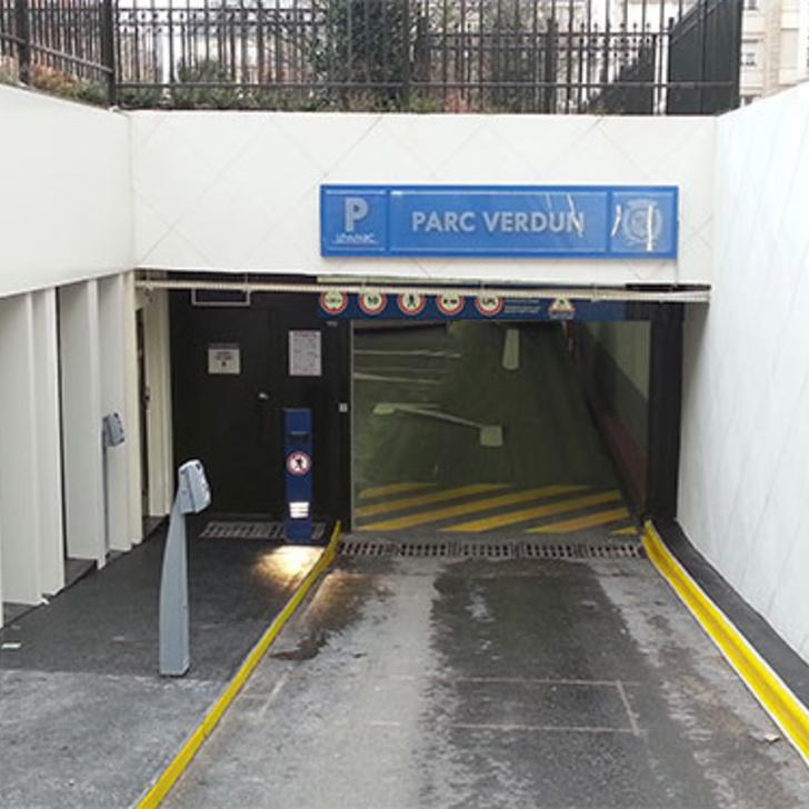 Öffentliches Parkhaus LEVAPARC VERDUN (Überdacht) Parkhaus Levallois