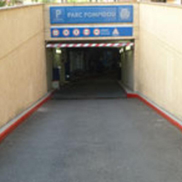Parque de estacionamento Parking Public LEVAPARC GEORGES POMPIDOU (Couvert) Levallois