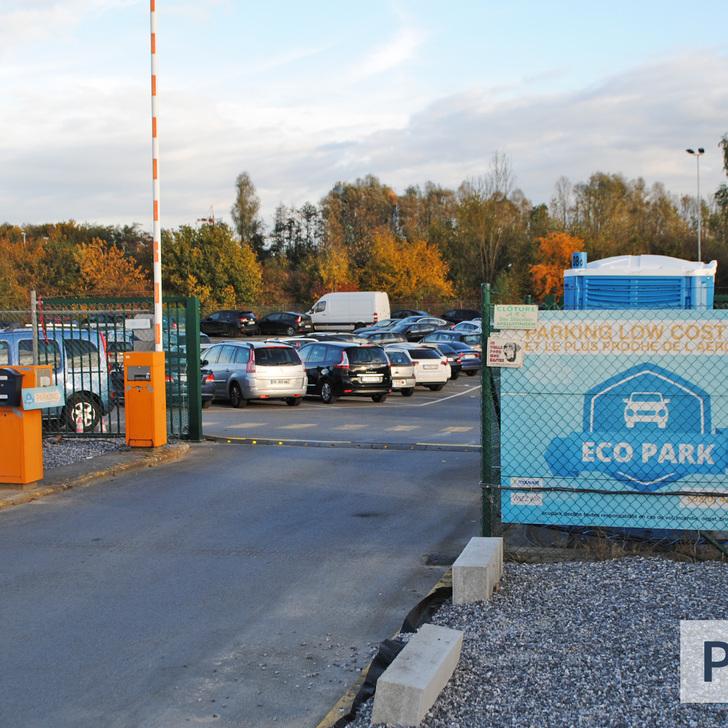 ECOPARK Discount Parking (Exterieur) Parkeergarage Fleurus