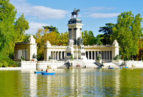 Parque del Retiro car park in Madrid: prices and subscriptions - District car park | Onepark