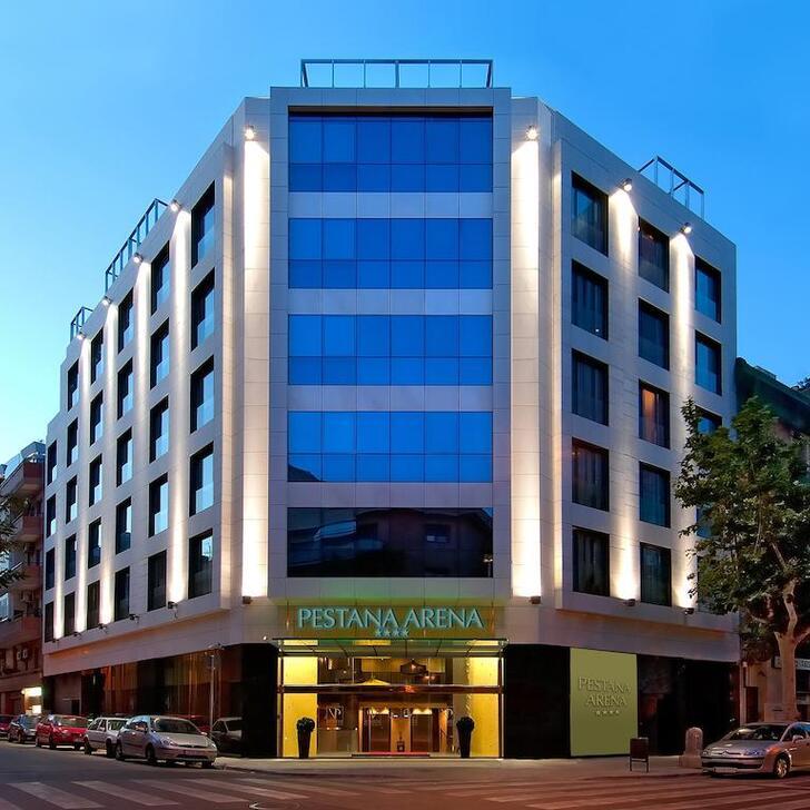 Parcheggio Hotel PESTANA ARENA BARCELONA (Coperto) parcheggio Barcelona