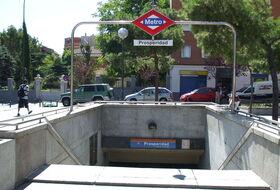 Parking Le quartier de La Prosperidad à Madrid : tarifs et abonnements - Parking de quartier | Onepark
