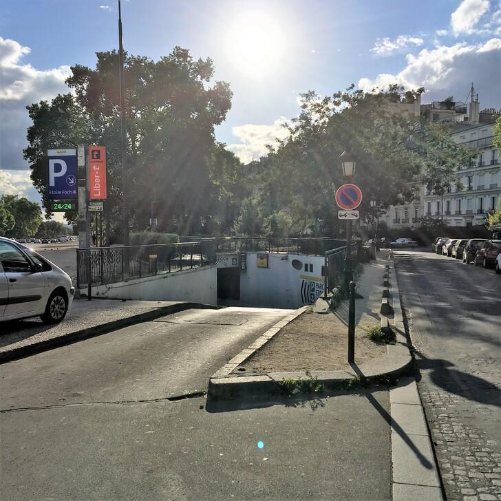 Parking Público AUTOCITÉ ÉTOILE FOCH (Cubierto) Paris