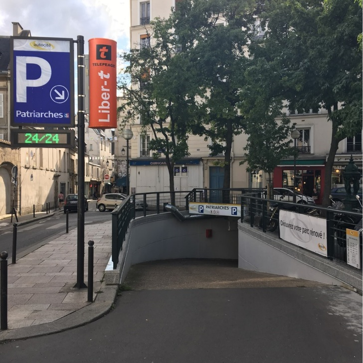 Parque de estacionamento Parking Public AUTOCITÉ PATRIARCHES (Couvert) Paris
