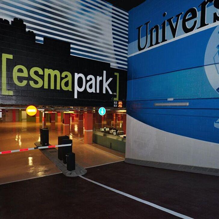 Parcheggio Pubblico ESMAPARK (Coperto) parcheggio Barcelona