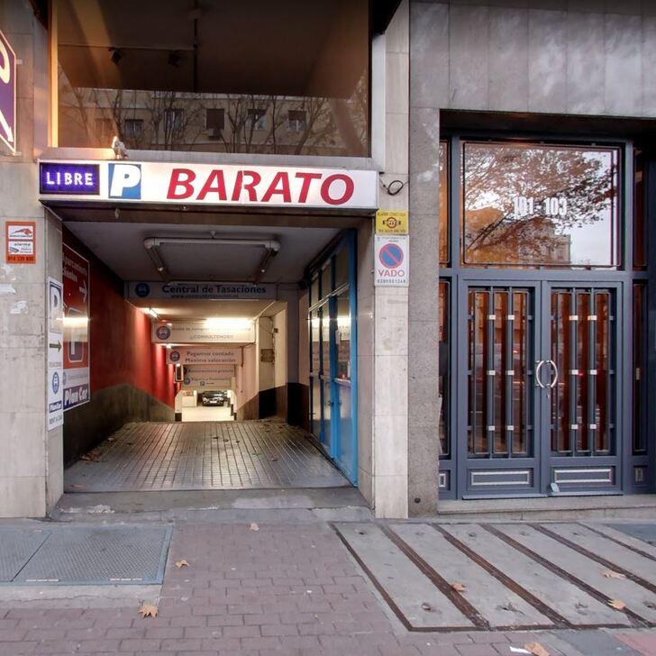 Öffentliches Parkhaus BARATO (Extern) Parkhaus Madrid
