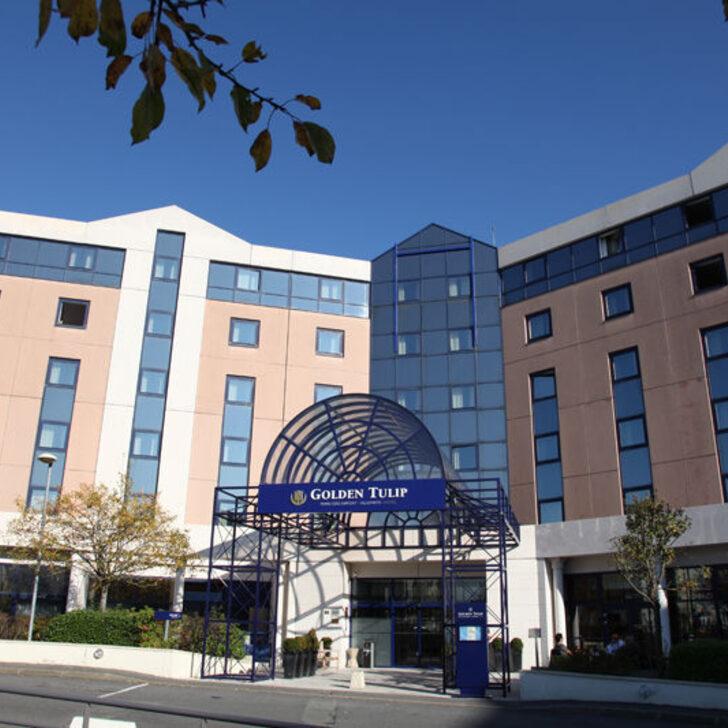 Parque de estacionamento Parking Hôtel GOLDEN TULIP PARIS CDG AIRPORT VILLEPINTE (Extérieur) Roissy-en-France