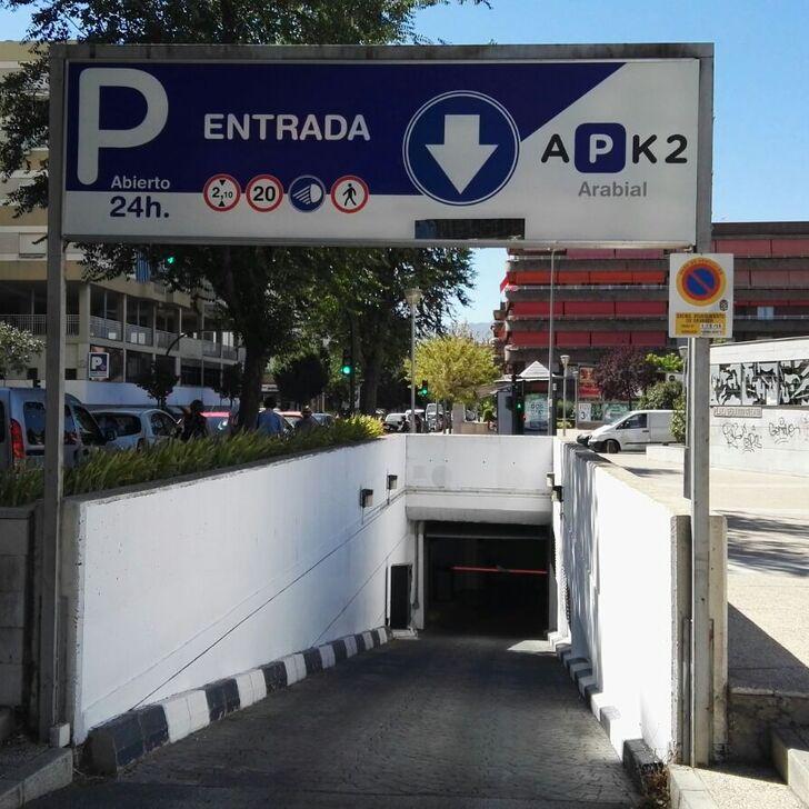 Öffentliches Parkhaus APK2 ARABIAL (Überdacht) Granada