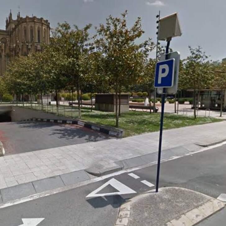 Öffentliches Parkhaus APK2 CATEDRAL VITORIA (Überdacht) Parkhaus Vitoria-Gasteiz
