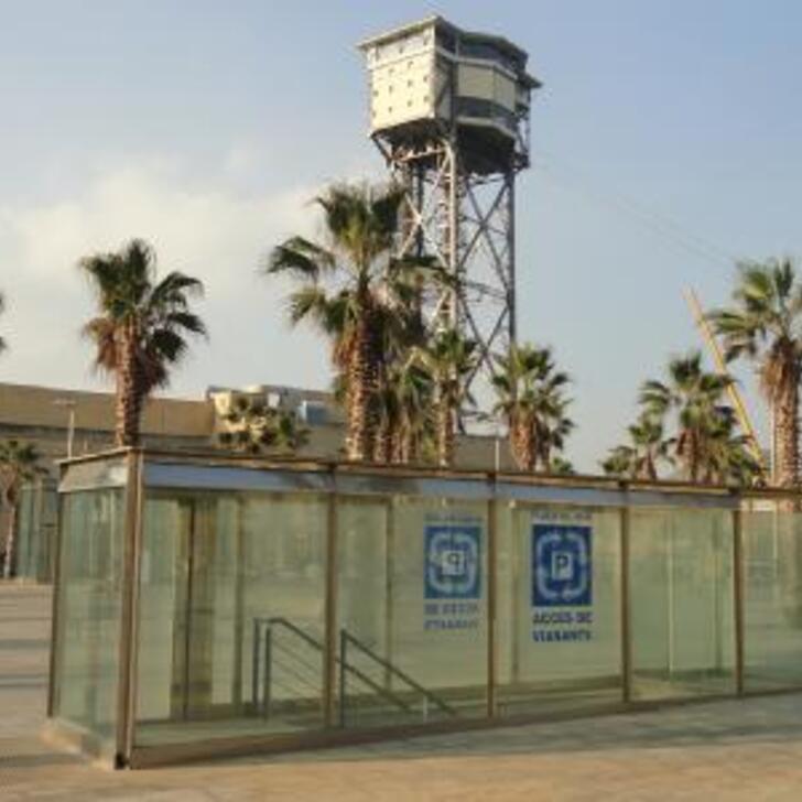 Öffentliches Parkhaus APK2 PLAZA DEL MAR (Überdacht) Barcelona