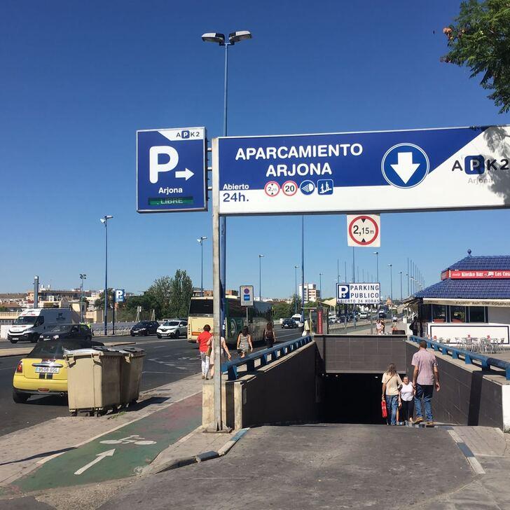 Öffentliches Parkhaus APK2 ARJONA (Überdacht) Sevilla