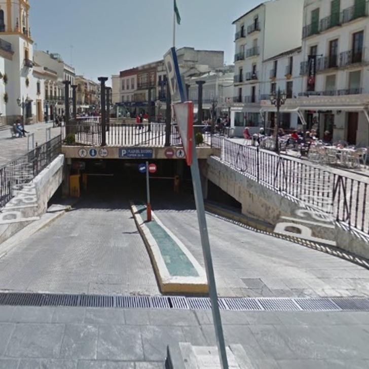 Öffentliches Parkhaus APK2 PLAZA DEL SOCORRO (Überdacht) Parkhaus Ronda