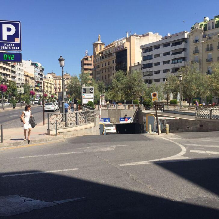 Öffentliches Parkhaus APK2 PUERTA REAL (Überdacht) Parkhaus Granada
