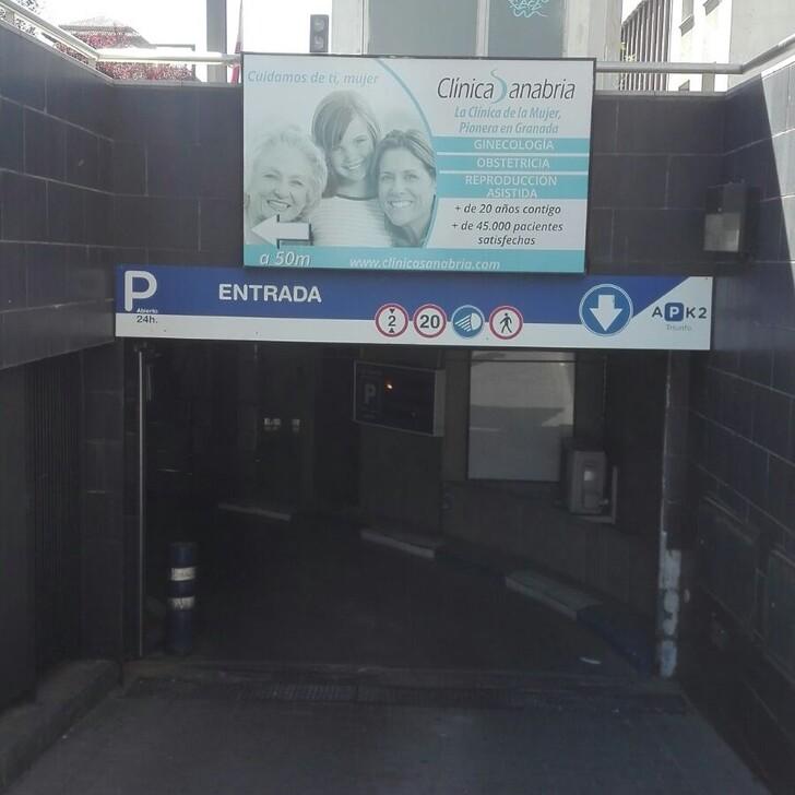 Öffentliches Parkhaus APK2 TRIUNFO (Überdacht) Parkhaus Granada