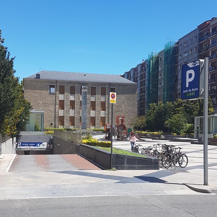 Öffentliches Parkhaus APK2 JUAN DE AYALA (Überdacht) Vitoria-Gasteiz