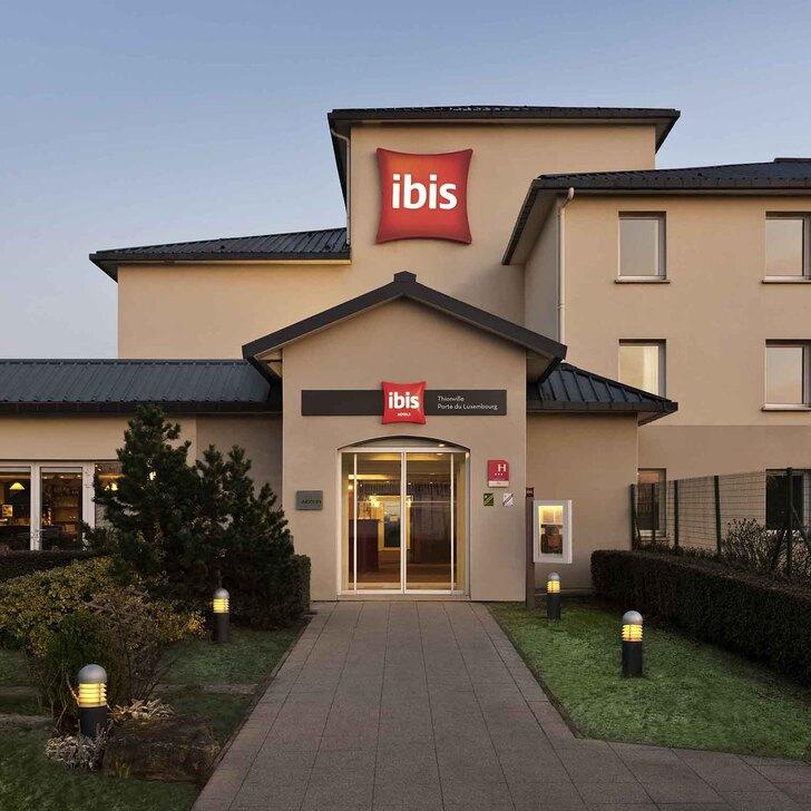 IBIS THIONVILLE PORTE DU LUXEMBOURG Hotel Parking (Exterieur) Yutz