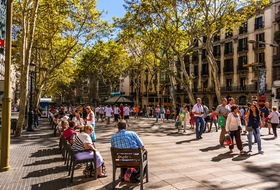 Ramblas de Barcelona car park: prices and subscriptions - Touristic place car park | Onepark