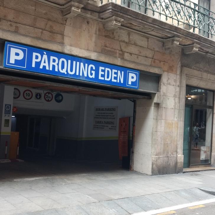 Hotel Parkhaus GAUDI (Überdacht) Parkhaus Barcelona