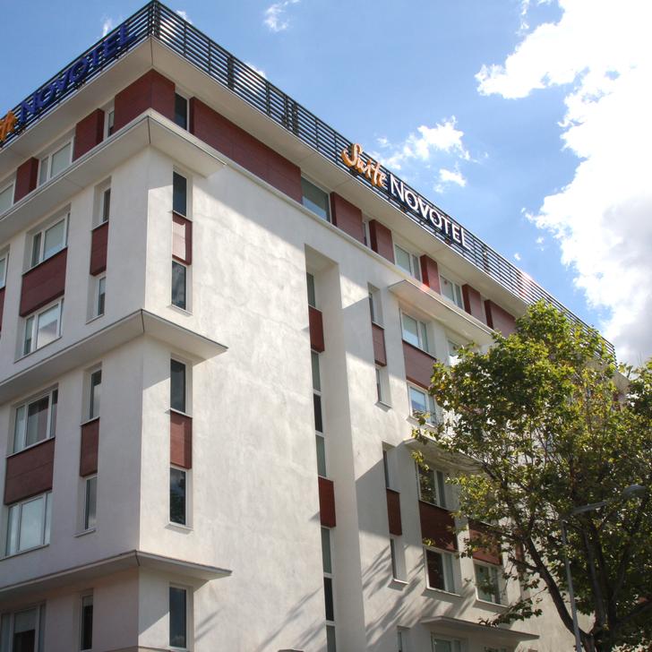 Parque de estacionamento Parking Hôtel NOVOTEL SUITES CLERMONT-FERRAND POLYDOME (Extérieur) Clermont-Ferrand