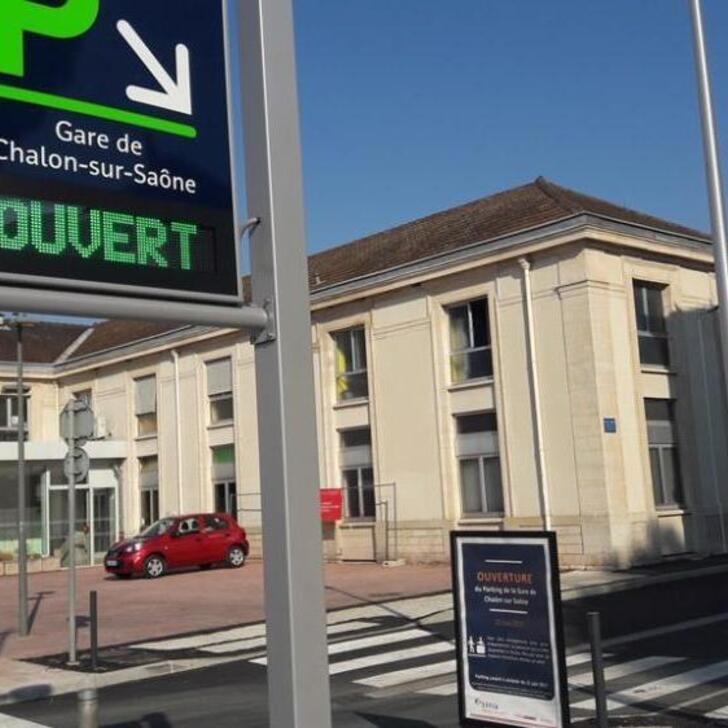 EFFIA GARE DE CHALON-SUR-SAÔNE Officiële Parking (Exterieur) CHALON SUR SAONE