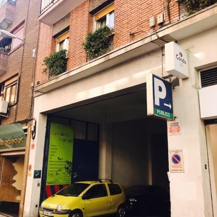 Öffentliches Parkhaus GARAJE ARIAS PROSPERIDAD (Überdacht) Parkhaus Madrid