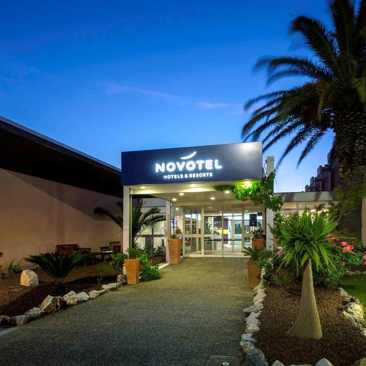 NOVOTEL PERPIGNAN Hotel Parking (Exterieur) Parkeergarage Rivesaltes