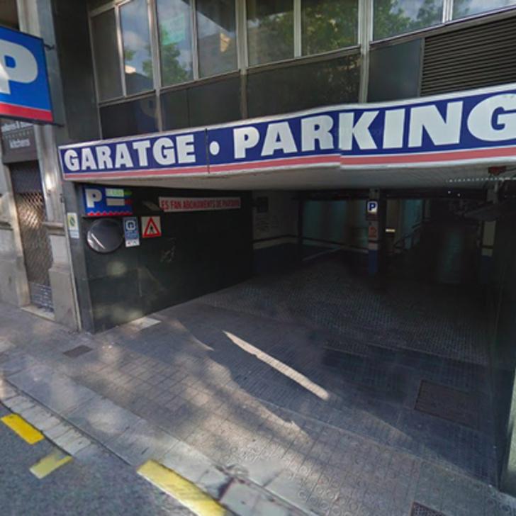 Öffentliches Parkhaus GARAGE MADISON (Überdacht) Parkhaus Barcelona