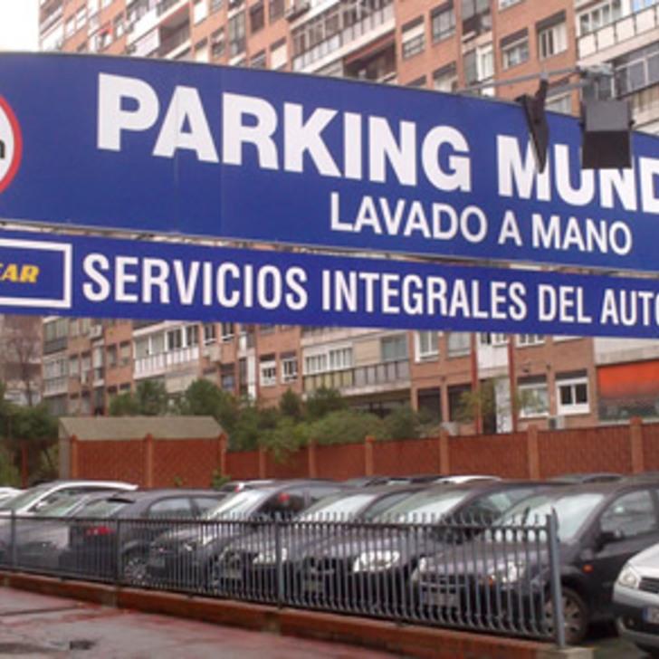 Öffentliches Parkhaus MUNDIAL (Überdacht) Parkhaus Madrid