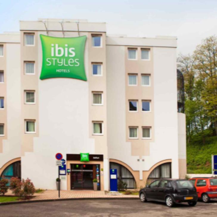 Parque de estacionamento Parking Hôtel IBIS STYLES BELFORT CENTRE (Extérieur) Belfort