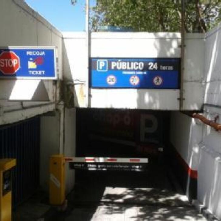 Öffentliches Parkhaus CAPORAL PRESIDENTE CARMONA (Überdacht) Madrid