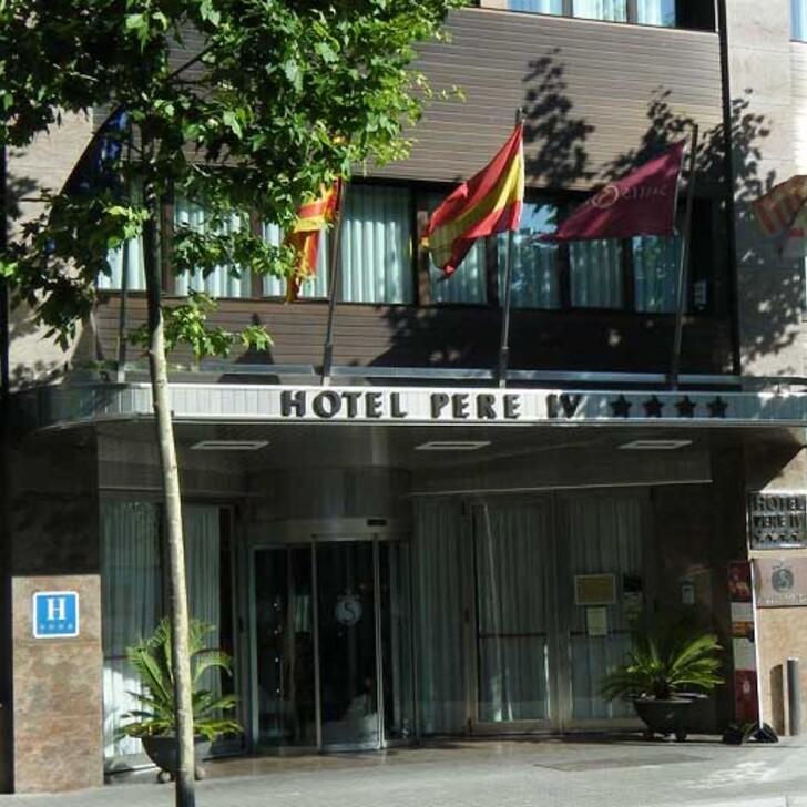 Parque de estacionamento Parking Hôtel SALLÉS HOTEL PERE IV (Couvert) Barcelona