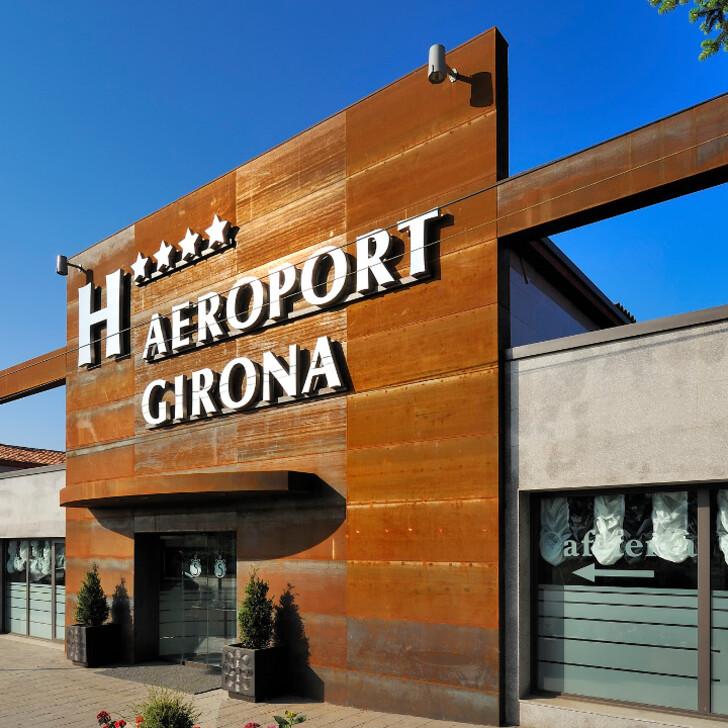 SALLÉS HOTELS AEROPORT GIRONA Hotel Parking (Exterieur) Parkeergarage Riudellots de la Selva