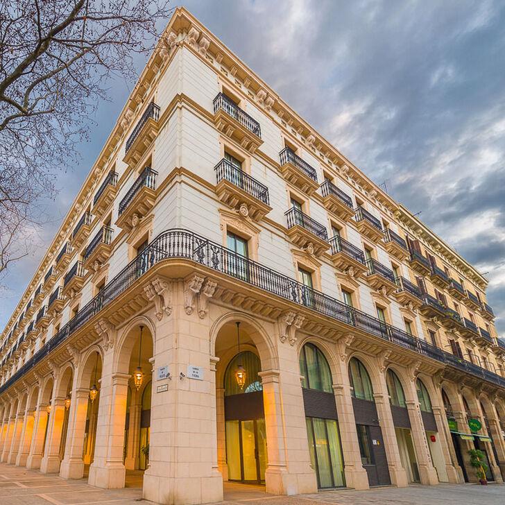 K+K HOTEL PICASSO Hotel Parking (Overdekt) Parkeergarage Barcelona