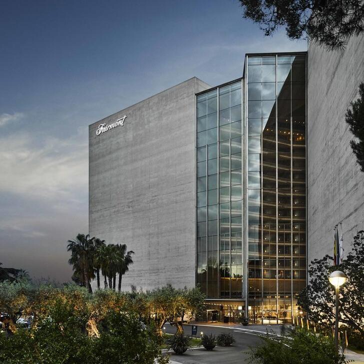 FAIRMONT REY JUAN CARLOS I Hotel Parking (Overdekt) Parkeergarage Barcelona