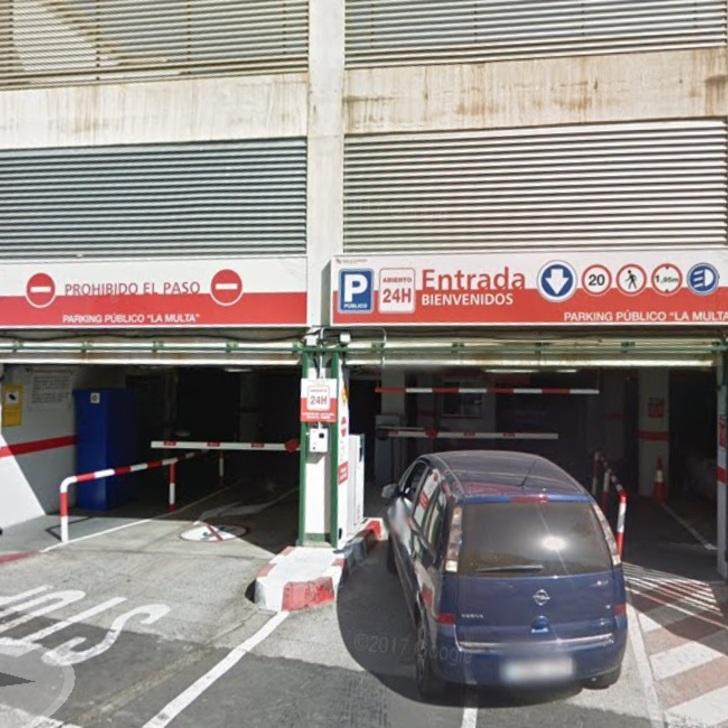 Öffentliches Parkhaus PARKIA LA MULTA(Überdacht) Santa Cruz de Tenerife