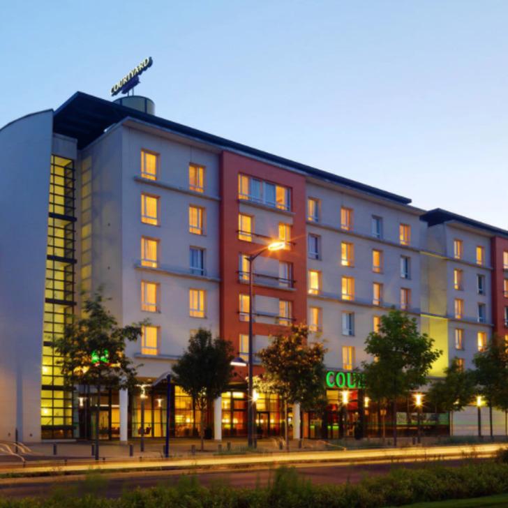 COURTYARD PARIS LA DEFENSE WEST - COLOMBES Hotel Parking (Overdekt) Parkeergarage Colombes