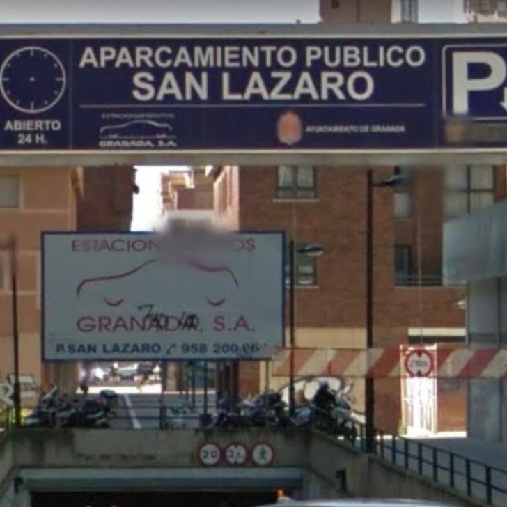 Öffentliches Parkhaus PARKIA SAN LÁZARO (Überdacht) Granada