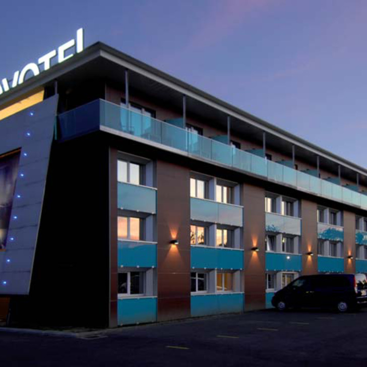 NOVOTEL LAUSANNE BUSSIGNY Hotel Parking (Exterieur) Bussigny