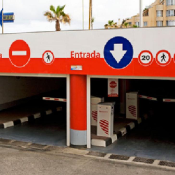Öffentliches Parkhaus IC SECRETARIO PADILLA (Überdacht) Parkhaus Las Palmas de Gran Canaria