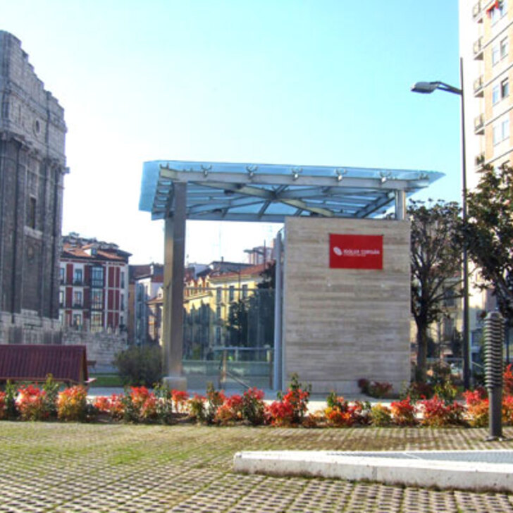 Parcheggio Pubblico IC PLAZA DE PORTUGALETE (Coperto) parcheggio Valladolid